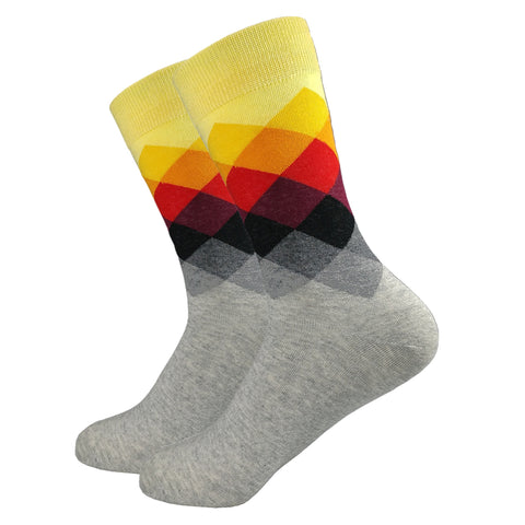 Mens Socks, Fun Socks, Colorful Socks