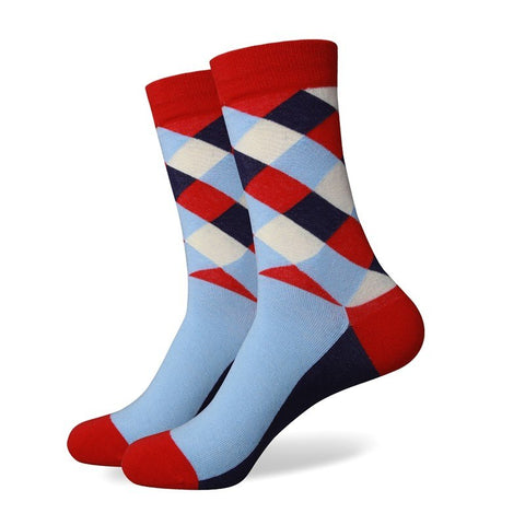 Mens Socks, Dress Socks, Patterned Socks, Fun Socks
