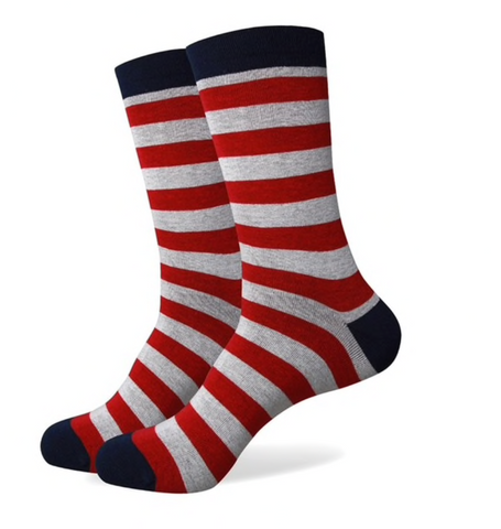 A Man Among Socks - Rad Stripes - 1