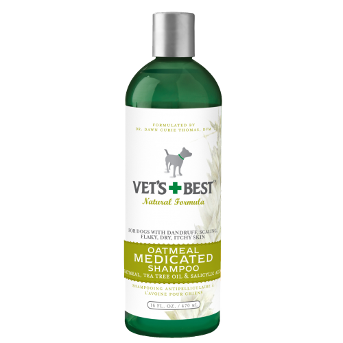 Vets Best Oatmeal Medicated Shampoo 16oz