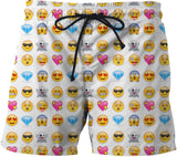 Emoji Mens Swim Trunks - GetRealFunky.com