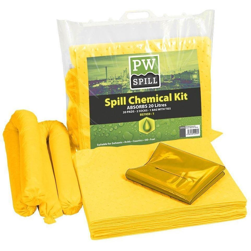 Portwest PW Spill 20 Litre Chemical Kit  SM90 - reid outdoors