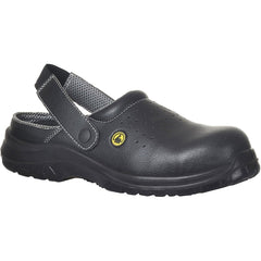 Portwest Compositelite ESD Perforated Safety Clog SB AE FC03 - reid outdoors