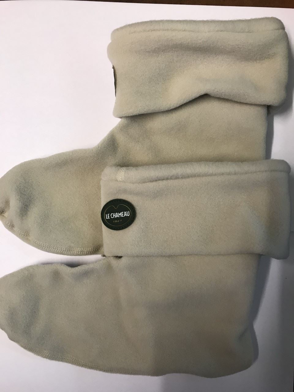 Le Chameau PolarFleece Socks - Low Boot - Beige Sable