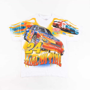 Vintage 'NASCAR Trial By Fire' 2006 T-Shirt - American Madness