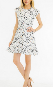 MR Tiny Floral Flutter Dress