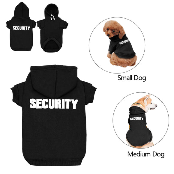 Security - This Dog Hoodie is a Soft Warm Pullover that Will Make You Smile - Swag for My Dog