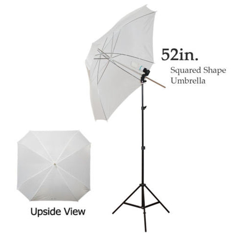 Big Size White Square Shaped Umbrella Lighting Kit for Photography