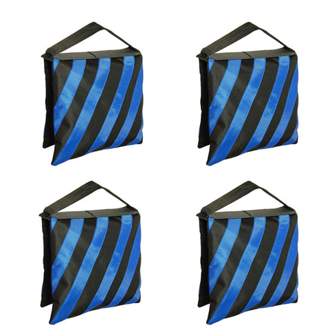 4 Blue High Quality Photography Studio Stage Film Light Stand Sandbags