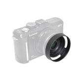 Metal Lens Hood for Panasonic Lumix 14mm f/2.5 Aspheric & 20mm f/1.7 Aspheric G-Series Lens