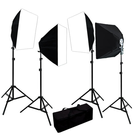 3200W Digital Photography Photo Video Continuous Lighting Light Kit Carrying Case