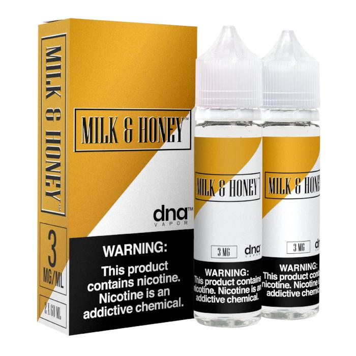 Milk & Honey 120ML By DNA Vapor