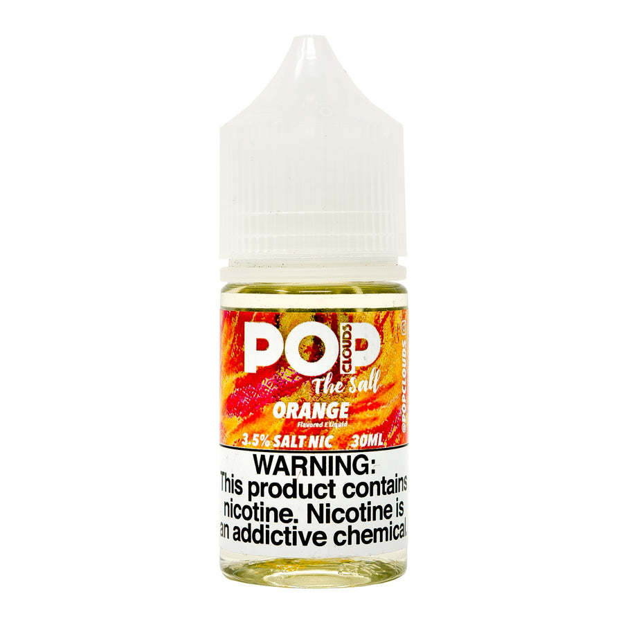 Orange 30ML Nic Salt By Pop Clouds The Salt E-Liquid
