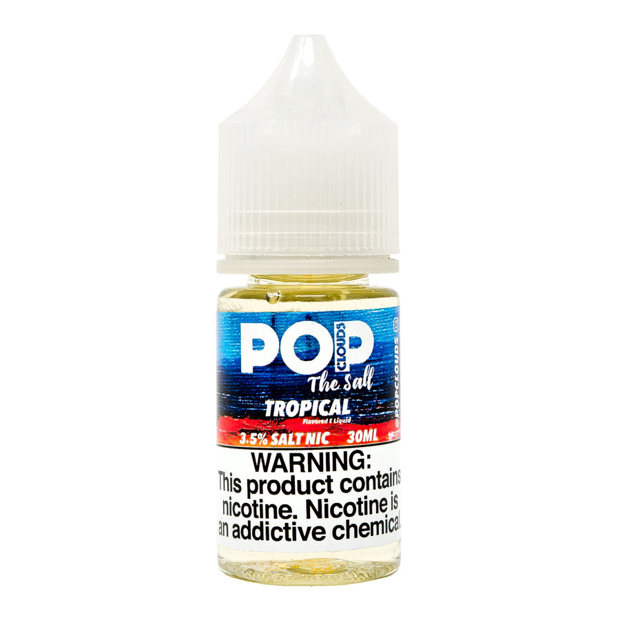 Tropical 30ML Nic Salt By Pop Clouds The Salt E-Liquid