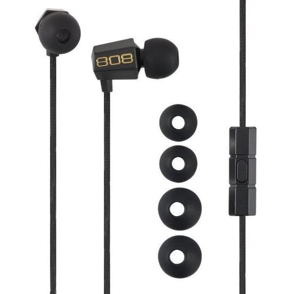 808 Audio BUDZ Noise Isolating Earbuds