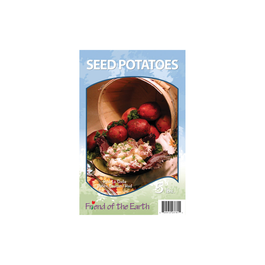 Red Seed Potatoes - Red La Soda Unit #15403