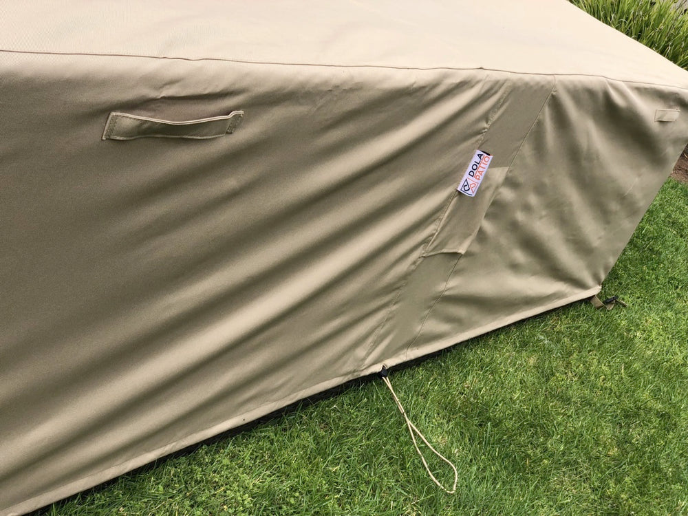 Outdoor Sectional Cover Square Extra-Large 126-126-27-Inches Waterproof