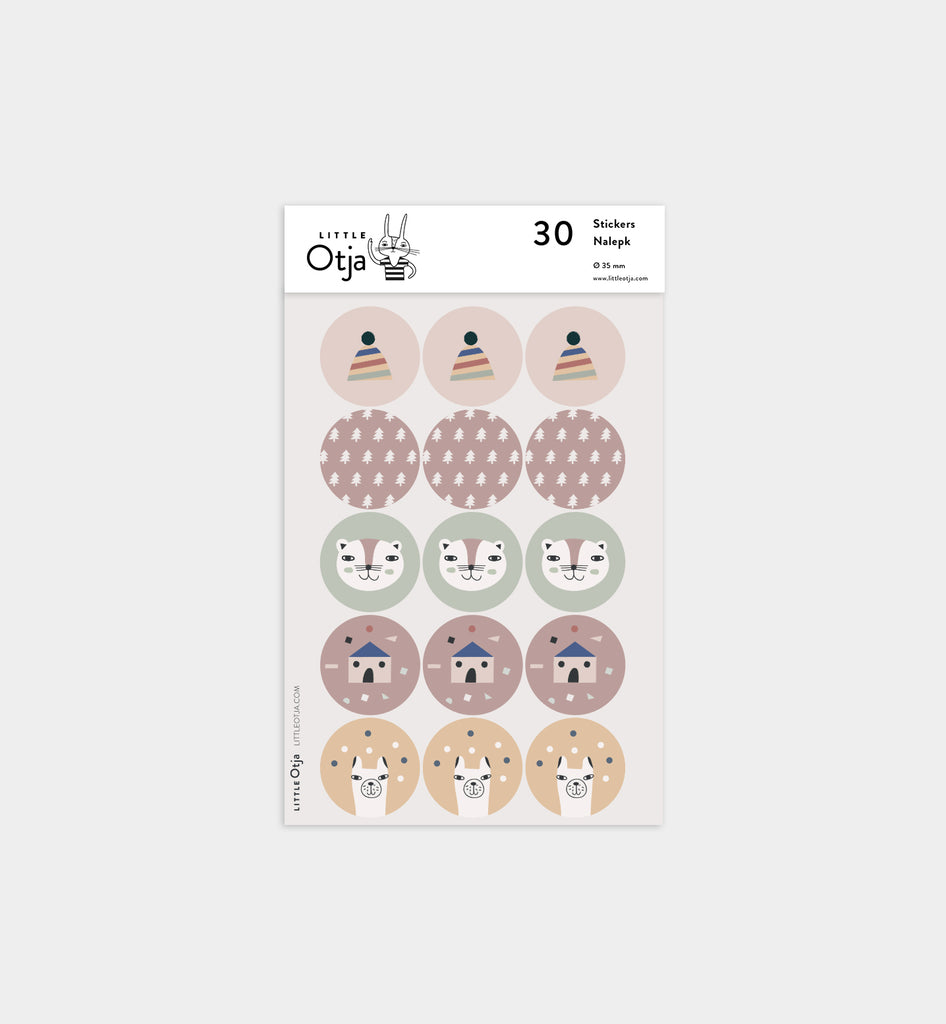 Little Otja Sticker Set