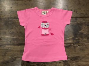 Heart Gumball Machine Shirt by Luigi Kids