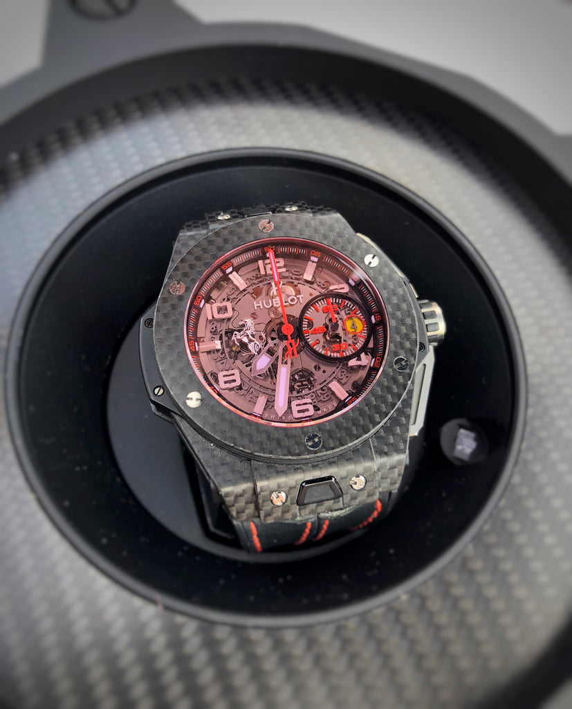 Hublot Big Bang Ferrari Chronograph Carbon Red Magic