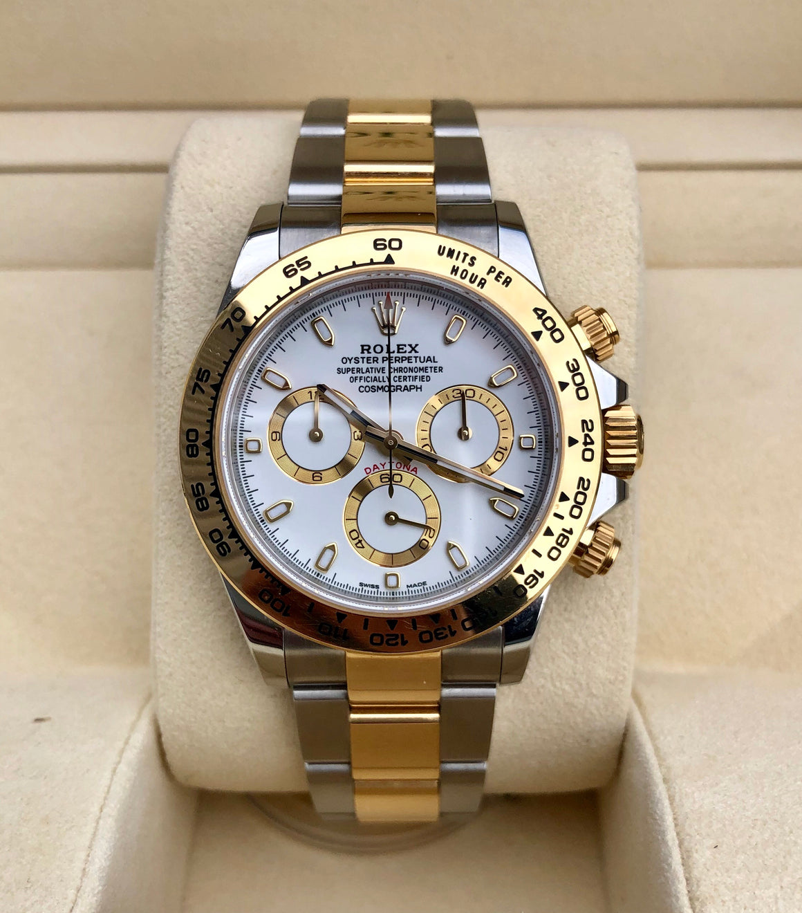 Rolex Daytona Cosmograph 116503 Two-Tone Gold Steel