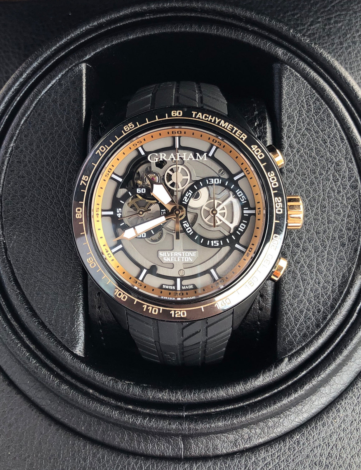 Graham Silverstone RS Skeleton Chronograph
