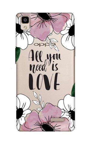 All You Need is Love Oppo R7 Cases & Covers Online