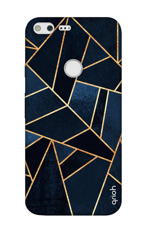 Abstract Navy Google Pixel Cases & Covers Online
