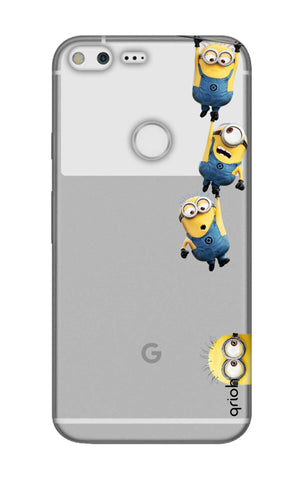 Falling Minions Google Pixel Cases & Covers Online