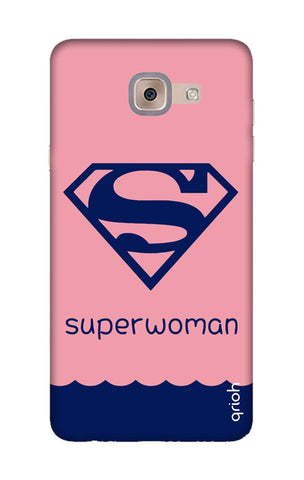Be a Superwoman Samsung J7 Max Cases & Covers Online