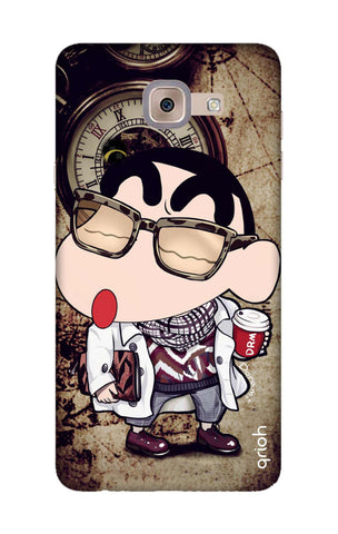 Nerdy Shinchan Samsung J7 Max Cases & Covers Online