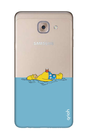 Simpson Chill Samsung J7 Max Cases & Covers Online