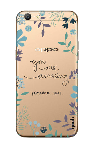 You're Amazing Oppo A71 Cases & Covers Online