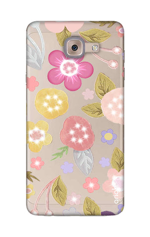 Multi Coloured Bling Floral Samsung ON Max Cases & Covers Online