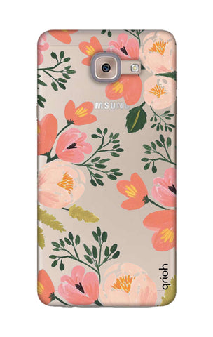 Painted Flora Samsung ON Max Cases & Covers Online