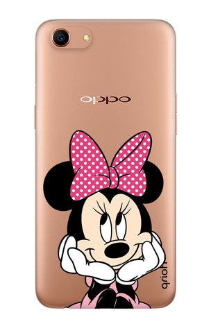 Minnie In Deep Thinking Oppo A83 Cases & Covers Online