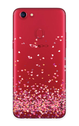 Cluster Of Hearts Oppo F7  Cases & Covers Online