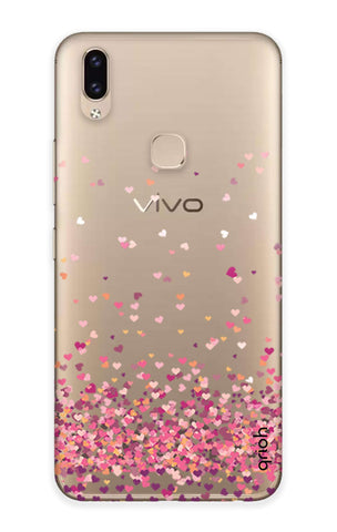 Cluster Of Hearts Vivo V9 Youth  Cases & Covers Online