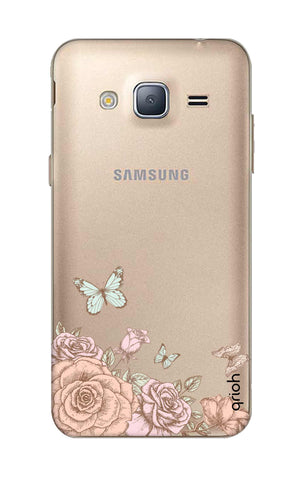 Flower And Butterfly Samsung J3 Cases & Covers Online
