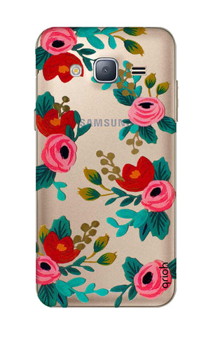Red Floral Samsung J3 Cases & Covers Online