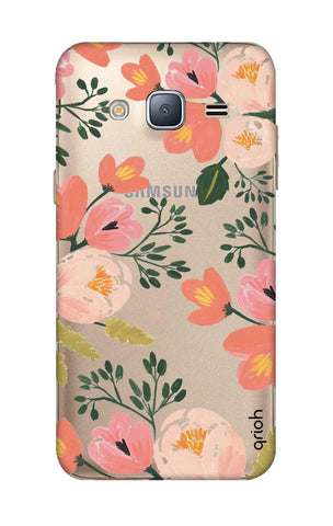 Painted Flora Samsung J3 Cases & Covers Online