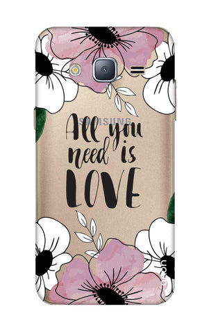All You Need is Love Samsung J3 Cases & Covers Online