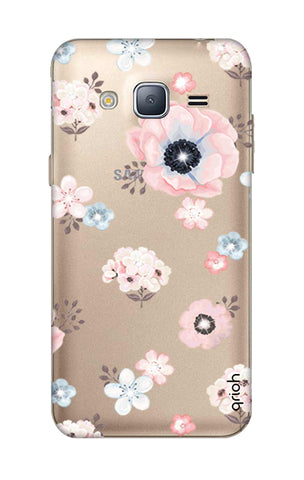 Beautiful White Floral Samsung J3 Cases & Covers Online