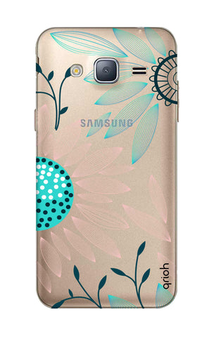 Pink And Blue Petals Samsung J3 Cases & Covers Online