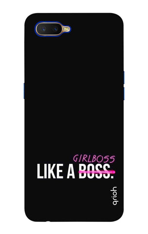 Like A Girl Boss Oppo K1 Cases & Covers Online