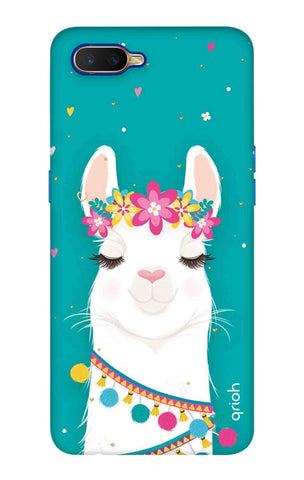 Cute Llama Oppo K1 Cases & Covers Online
