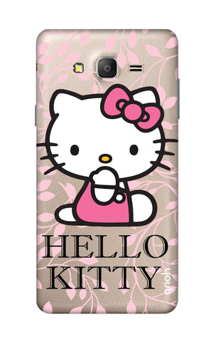 Hello Kitty Floral Samsung ON5 Cases & Covers Online
