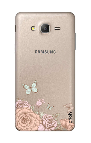 Flower And Butterfly Samsung ON5 Cases & Covers Online