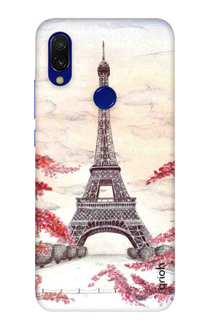 Eiffel Art Xiaomi Redmi 7 Cases & Covers Online