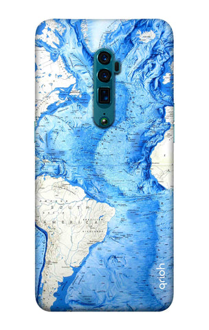 World Map Oppo Reno 10X Zoom Cases & Covers Online